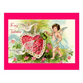 Cupid Valentine Postcard