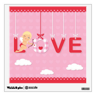 Cupid Valentine's Day Wall dcal Wall Decal