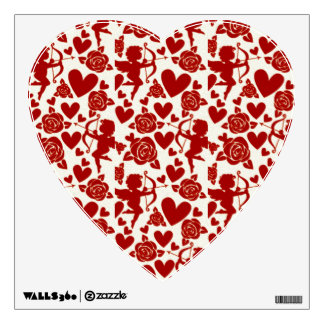 Cupid Valentine's Day Wall Decal