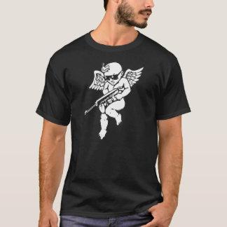 CUPID WILL SHOOT YOU WITH  AN AK-47 RIFLE GUN T-Shirt