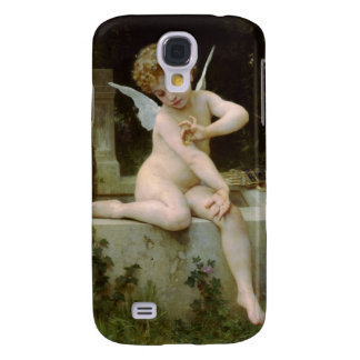 Cupid with a Butterfly Samsung Galaxy S4 Cases
