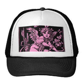 """""""Cupid with bow and arrow"""", Cupid, love, Valentine Trucker Hat"""