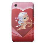 Cupid with bow and arrow iPhone 3 Case-Mate cases