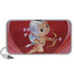 Cupid with bow and arrow notebook speaker