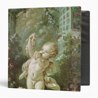 Cupid with Grapes Binder