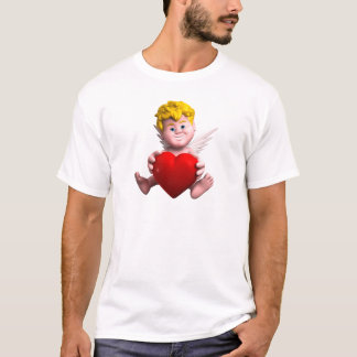 Cupid with heart T-Shirt