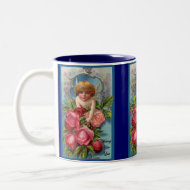Cupid With Roses Valentine's Mug