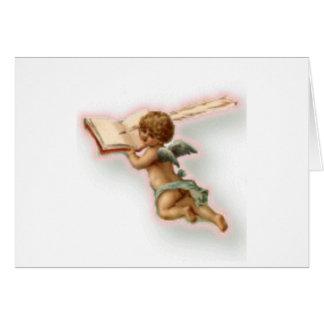Cupid Writting Card
