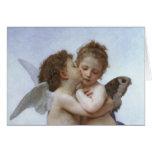 Cupid y psique como Babys Felicitacion