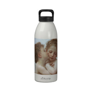 Cupid y psique como niños botellas de beber