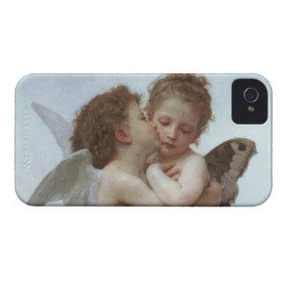 Cupid y psique como niños iPhone 4 cárcasa