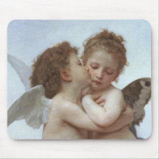 Cupid y psique como niños tapetes de raton