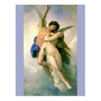 Cupid y psique por Bouguereau Postal