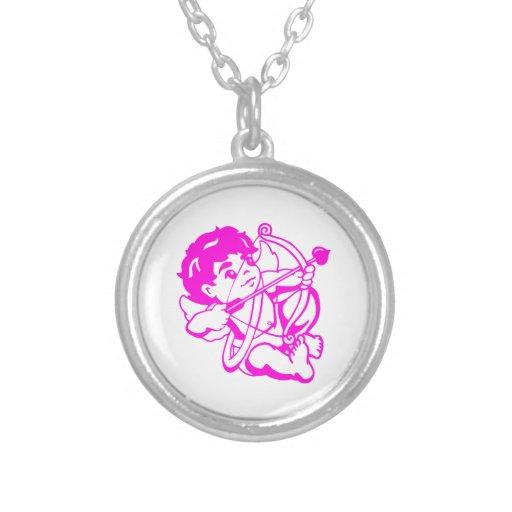 Cupido Amor en lilas Collar