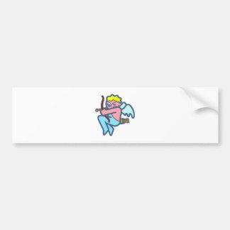 Cupido cupid car bumper sticker