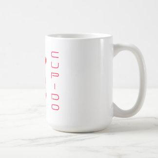 Cupido in red coffee mug