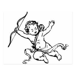 Cupidon Tarjeta Postal