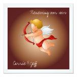Cupids and His Arrow Custom Invitation