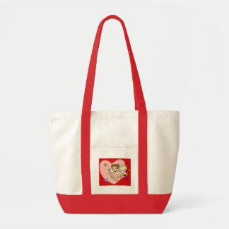 Cupid's Arrow Impulse Tote Bag