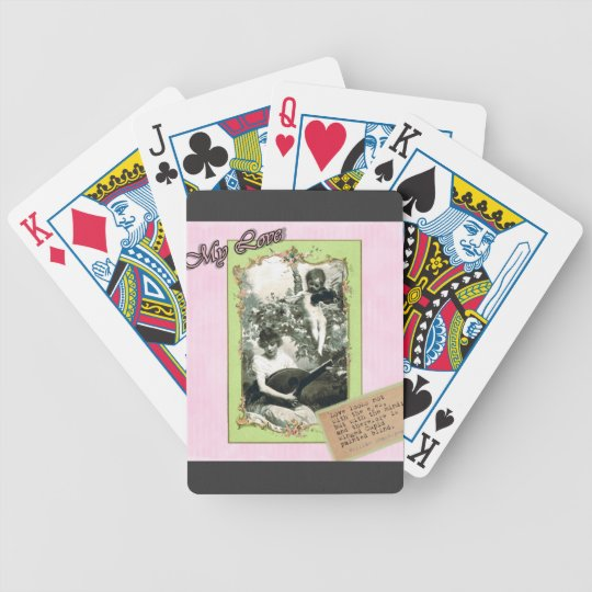 Cupids Arrow Bicycle Playing Cards