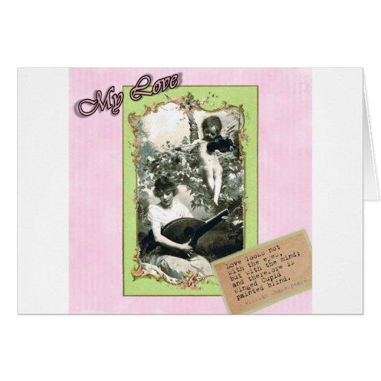 Cupids Arrow Card