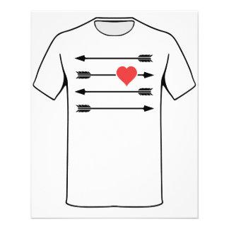 Cupid's Arrow Valentine's Day Heart Flyer