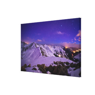 Cupid's Celestial View Canvas Print