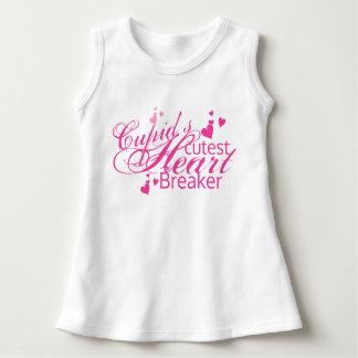 Cupid's Cutest Heart Breaker baby Dress