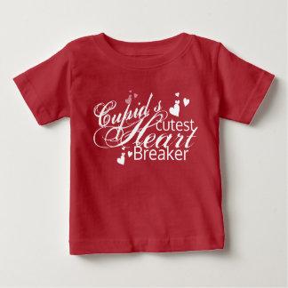 Cupid's Cutest Heart Breaker Baby T-Shirt