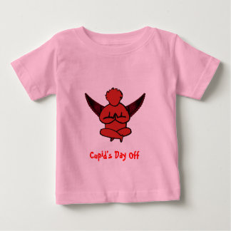 Cupid's Day Off - Funny Yoga Shirt for Babies
