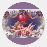 Cupids Embrace Stickers