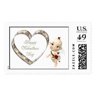 cupids flower postage