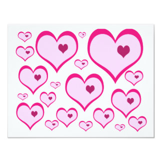 Cupids Hearts Card
