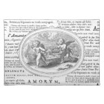 Cupids in Love Wedding or Anniversary Place Mat