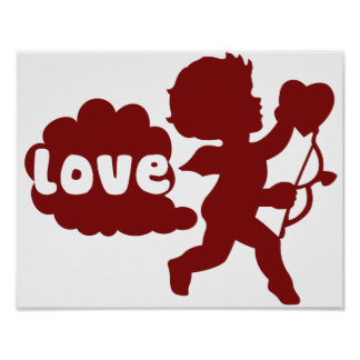Cupids Love Fart Poster