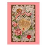 Cupid's Poem Postcard