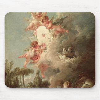 Cupid's Target, from 'Les Amours des Dieux' Mouse Pad