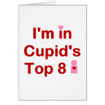 Cupid's Top 8 Greeting Cards