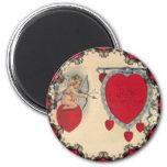 Cupids Valentine Message Magnet