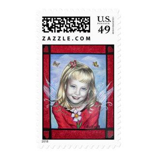 Cupid's Valentine Stamps