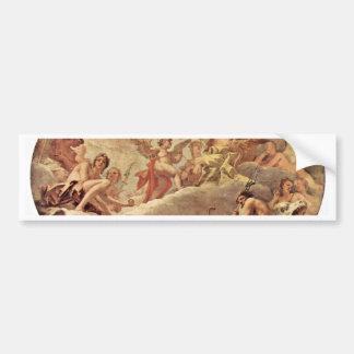 Cupidus antes de Júpiter de Ricci Sebastiano Pegatina De Parachoque