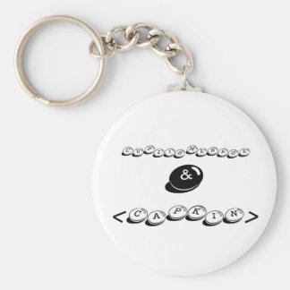 cuplidmenade, &, <capkin> basic round button keychain