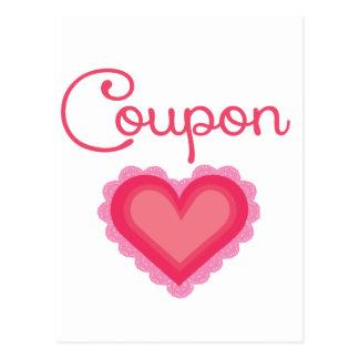 Cupón Love.png Tarjeta Postal