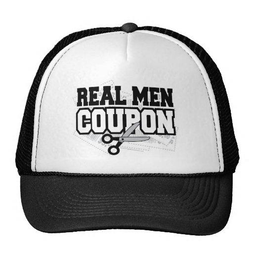 Cupón real de los hombres gorras de camionero