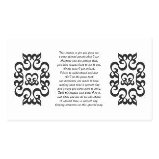 Cupones para que usted dé tarjetas de visita