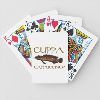 Cuppa cappuccino? bicycle playing cards