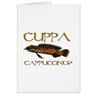 Cuppa cappuccino?