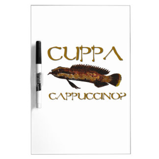 Cuppa cappuccino? Dry-Erase whiteboards
