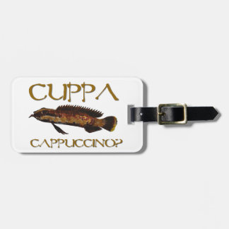 Cuppa cappuccino? tags for luggage