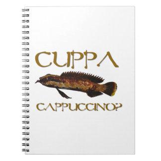 Cuppa cappuccino? note books